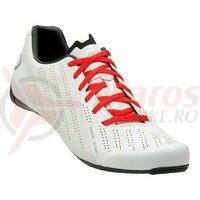Pantofi ciclism barbati Pearl Izumi Attack road white/white