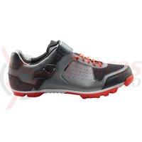Pantofi ciclism Cube MTB Peak Pro grey/cherry/tomato