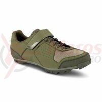 Pantofi ciclism Cube shoes MTB peak olive