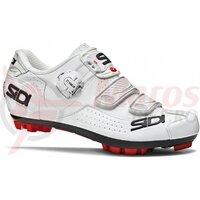Pantofi ciclism dama MTB Sidi Trace alb