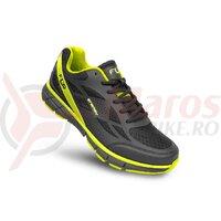 Pantofi ciclism FLR Energy Mtb negru/galben neon