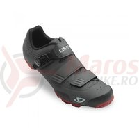 Pantofi ciclism Giro Privateer R dark shadow red