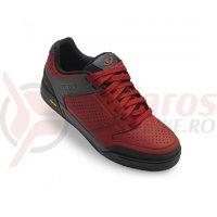 Pantofi ciclism Giro Riddance dark red
