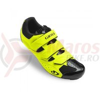 Pantofi ciclism Giro Techne highlight yellow