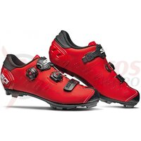 Pantofi ciclism MTB Sidi Dragon 5 SRS Matt rosu/negru