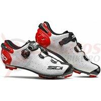 Pantofi ciclism MTB Sidi Drako 2 SRS-Alb/Rosu