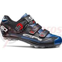 Pantofi ciclism MTB Sidi Eagle 7 negru/albastru