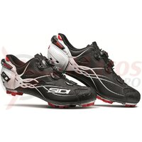 Pantofi ciclism MTB Sidi Tiger Matt Carbon SRS 2020 Negru/Alb