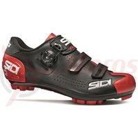 Pantofi ciclism MTB Sidi Trace 2 negru/rosu