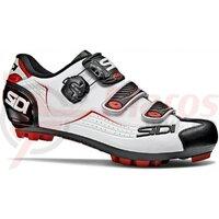 Pantofi ciclism MTB Sidi Trace alb/negru