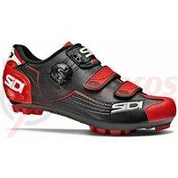 Pantofi ciclism MTB Sidi Trace negru/rosu