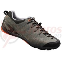 Pantofi ciclism Shimano Click-R SH-CT80GO Grey/Orange
