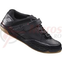 Pantofi ciclism Shimano Gravity SH-AM500ML Black