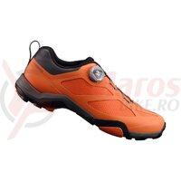 Pantofi ciclism Shimano Mountain Touring SH-MT700MR orange