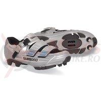 Pantofi ciclism Shimano MTB SH-M225 Gun Metallic/Black