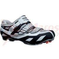 Pantofi ciclism Shimano MTB SH-M240 White/Red