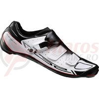 Pantofi ciclism Shimano road competition SH-R321WE Wide White