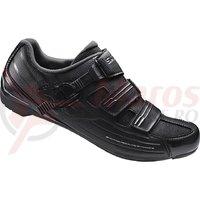 Pantofi ciclism Shimano road performance SH-RP300LE Wide Black