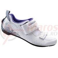 Pantofi ciclism Shimano Triathlon SH-TR500WW Ladies White