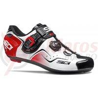Pantofi ciclism Sidi KAOS alb/negru/rosu