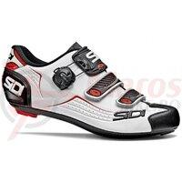 Pantofi ciclism sosea Sidi Alba alb/negru