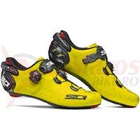 Pantofi ciclism sosea Sidi Wire 2 Carbon galben/negru