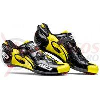 Pantofi ciclism sosea Sidi Wire Carbon Lucido galben/negru