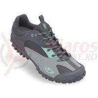 Pantofi dama Giro Petra negri gri/albastru