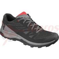 Pantofi drumetie Salomon Outline BK/Quiet Shad/High Risk barbati