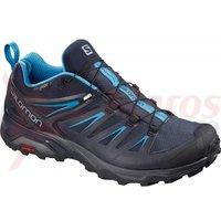 Pantofi drumetie Salomon X Ultra 3 Gore-Tex gy/night sky/hawaii barbati