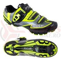 Pantofi Force MTB Carbon Devil fluo marime 44