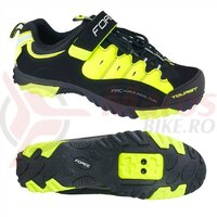 Pantofi Force Tourist-II negru/fluo FARA SPD
