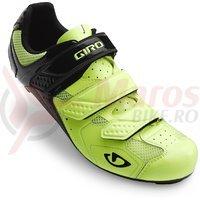 Pantofi Giro Treble galben/negru mat