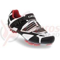 Pantofi MTB Giro Code negru/rosu