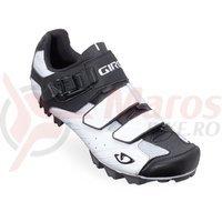 Pantofi MTB Giro Privateer alb/negru