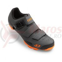 Pantofi MTB Giro Privateer gri/orange
