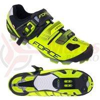 Pantofi MTB Hard Force negru/fluo