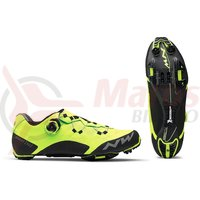 Pantofi MTB Northwave Ghost XC galben fluo/negru