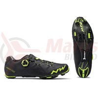Pantofi MTB Northwave Ghost XC negru/galben fluo