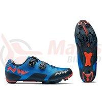 Pantofi MTB Northwave Rebel albastru/orange