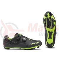 Pantofi MTB Northwave Rebel anthracit/acid green