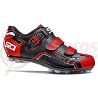 Pantofi MTB Sidi Buvel negru/rosu/alb