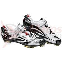 Pantofi MTB Sidi Dragon 3 Carbon SRS alb/negru