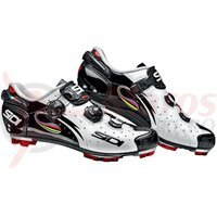 Pantofi MTB Sidi Drako Carbon alb/negru iride