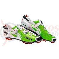 Pantofi MTB Sidi Drako Carbon verde fluo/alb