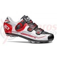 Pantofi MTB Sidi Eagle 7 alb/rosu/negru