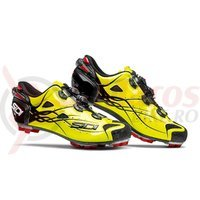 Pantofi MTB Sidi Tiger Carbon SRS galben aprins/negru