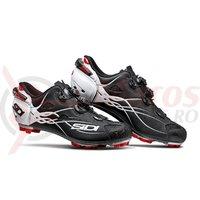 Pantofi MTB Sidi Tiger Carbon SRS negru mat/alb