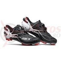 Pantofi MTB Sidi Tiger Carbon SRS negru mat/alb/rosu