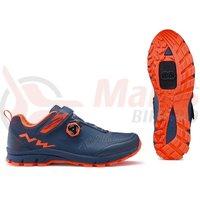 Pantofi Northwave All Ter. Corsair blue/lobster/orange